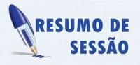Confira os resultados da Sessão Ordinária da última segunda-feira